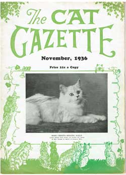 1936 Cat Gazette
